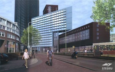 """Den Haag gebouw """"The Y"""""""